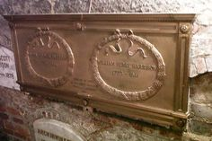 Grave Marker- William Henry Harrison (9th President of the U.S) (2 of 2).
