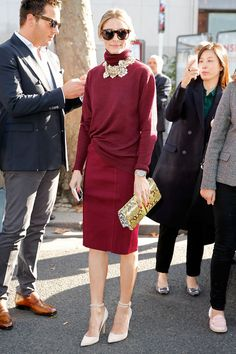 Olivia Palermo--PERFECT Thanksgiving outfit idea!