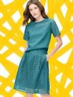 What To Wear To Your Uptight Office #refinery29  http://www.refinery29.com/conservative-office-clothes#slide-30  The Bell-Sleeve CoatGive off mod vibes in a topper that's brimming with charm. ...