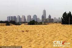 Cidade chinesa cria lago artificial… Mas acaba ficando com um deserto tipo Saara… | O TRECO CERTO