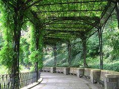 Pergola, Conservatory Garden, Central Park