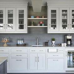White Macaubas Quartzite Countertops, Contemporary, Kitchen