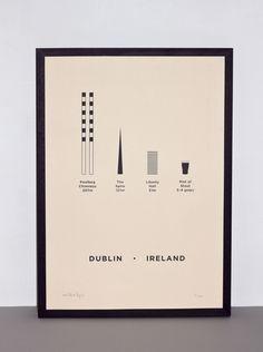Dublin Print  at This Greedy Pig