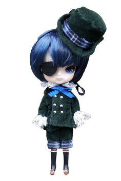 Amazon.com: Docolla Pullip Doll Black Butler CielDal Figure Doll: Toys & Games