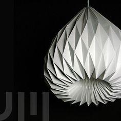 SNOWDROP Origami Lampenschirm