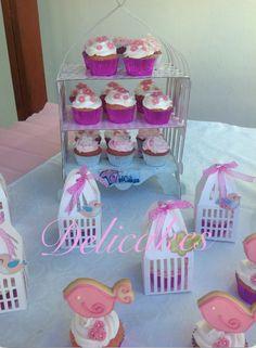 Cupcakes para Bautizo.
