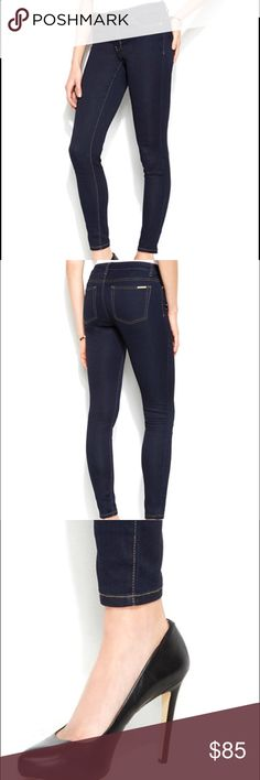 ⭐️FINAL⭐️Michael Kors Skinny Indigo jeans NWT Gorgeous jeans- just a tiny bit too short for my long legs.  Gifted to me, BRAND NEW $120 at Macy's and these are tagged at Retail $110 attached. Michael Kors Pants Skinny
