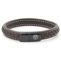Buy Lucleon - Brown Retro Leather Bracelet for only Shop at Trendhim and get returns. Bracelets For Men, Beaded Bracelets, Mode Mantel, Tiger Eye Bracelet, Red Tigers Eye, Engraved Bracelet, Braided Leather, Black And Brown, Diy Jewelry Making