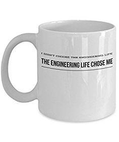 Cottage Creek Engineer Gifts Engineer Mug 18 Ounce Ceramic Engineer Coffee Mug//Gifts For Dad White