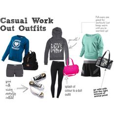 Exercise outfit - You have one body, care it!