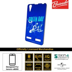 Buy Green Day Mobile Cover & Phone Case For Lenovo A6000 at lowest price online in India only at Skin4Gadgets. CASH ON DELIVERY AVAILABLE