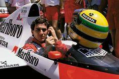 Em 1991, Senna e sua McLaren foram desafiados por um Honda e um Porsche - Velocidade - Fera