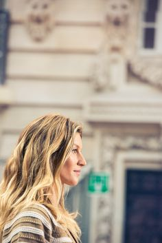 Gisele's waves up close = everything. http://www.thecoveteur.com/chanel-springsummer-2015