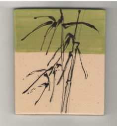 Bamboo tile by Bella Odendaal Bamboo, Tiles, Painting, Art, Room Tiles, Art Background, Tile, Painting Art, Kunst