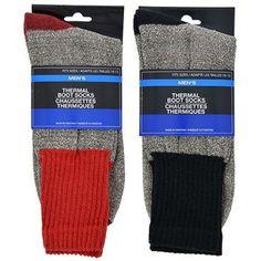 Men's Thermal Boot Socks (Set of 2)