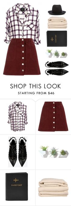 """""""Sometimes I wanna disappear."""" by four-am ❤ liked on Polyvore featuring Miss Selfridge, Valentino, Dot & Bo, Brahms Mount and rag & bone"""