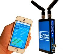 Boxx TV Shows Off Next Generation HD Wireless Camera Transmitter at IBC