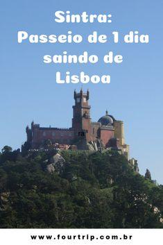 Roteiro de 1 dia em Sintra, saindo de Lisboa. #sintra #sintraportugal #passeioemsintra #portugal