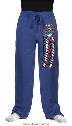 Spodnie dresowe Captain America - Kapitan Ameryka