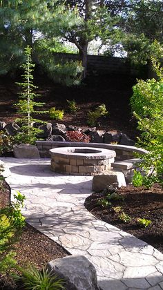 firepit area away from house - Google Search