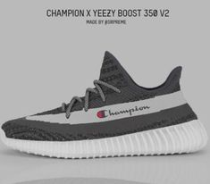 Champion + Yeezy Fresh Kicks, Fashion 101, Yeezy Boost, Adidas Sneakers, Shoes, Champion, Zapatos, Shoes Outlet, Footwear
