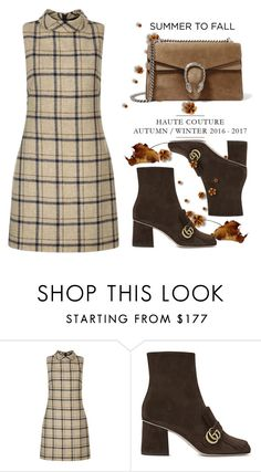 """""""Summer to Fall"""" by conch-lady ❤ liked on Polyvore featuring Hobbs, Gucci and summertofall"""