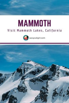 If you have California travel on your mind, escape to Mammoth Lakes California this winter. It's the perfect destination to enjoy the outdoors.