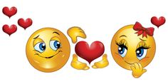 If you are feeling romantic about someone, this is the perfect emoticon to share in a status update or in a message Symbols Emoticons, Funny Emoticons, Emoji Symbols, Smileys, Sick Emoji, Smiley Emoji, Cute Emoji, Funny Phrases, Funny Signs