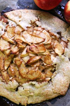 Caramel Apple Smoked Gouda Galette | Joanne Eats Well With Others
