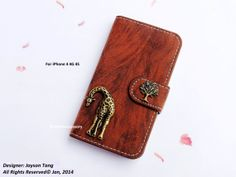 Giraffe iPhone 4 case  iPhone 4 Wallet case  by iFashionAccessory, $17.98