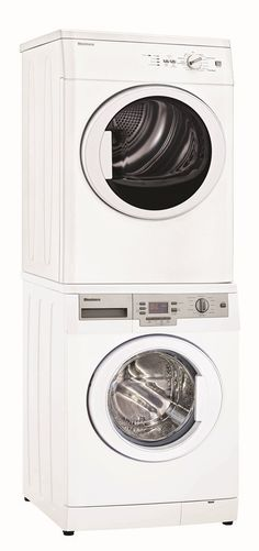 """Receive great ideas on """"laundry room stackable washer and dryer"""". They are acces. Receive great ideas on """"laundry room stackable washer and dryer"""". They are acces… Laundry Dryer, Laundry Closet, Laundry Room Organization, Small Laundry, Laundry Rooms, Compact Washer And Dryer, Stackable Washer And Dryer, Stacked Washer Dryer, Apartment Washer And Dryer"""