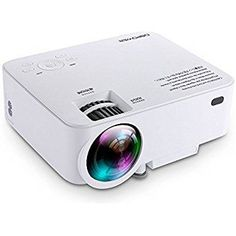 I love this projector! I don't have any extra space for a TV in my dinning room. However, I like to enjoy some tv or movie while I'm dining. This cute projector solve the problem. Just connect it with my iPad or iPhone. I can streaming NBA games , drama on the wall now. Product looks fresh white, image quality is awesome.  buy on https://apps.facebook.com/elec-store