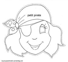 girl pirate mask for party bag favour Preschool Pirate Theme, Pirate Activities, Craft Activities, Preschool Crafts, Pirate Day, Pirate Birthday, Calico Jack, Pirate Crafts, School Themes