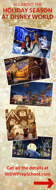 A complete guide to all the holiday festivities at Walt Disney World | Christmas at Disney World | Epcot at Christmas | Holidays at Disney World