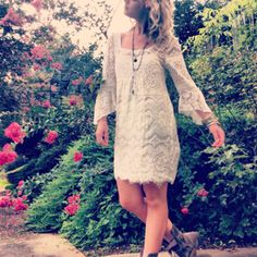 Lace and Flowers on Free People