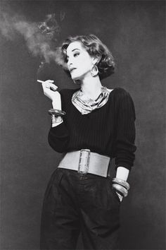 Loulou de la Falaise (1948-2011). Born Louise Vera Lucia Henriette Le Bailly de la Falaise, she was raised initially in a series of foster homes after her parents divorced in 1950. She was a longtime muse of fashion mogul Yves Saint Laurent.