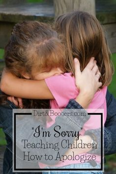 How we apologize to our kids matters. This is a great parenting tip!