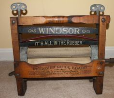 Antique Montgomery Ward Windsor 205 Clothes Wringer Laundry Patented in 1924   eBay