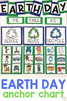 Celebrating Earth Day in the Classroom – Teaching Special Thinkers - Recycled Crafts Kids 2020 Preschool Science, Preschool Classroom, Preschool Learning, Teaching, Toddler Preschool, Preschool Themes, Earth Day Projects, Earth Day Crafts, The Three Rs