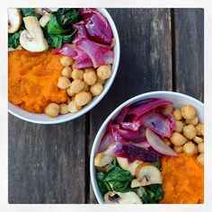 Here at D&H, we love to promote the concept of 'eating the rainbow'. Did you know that the colours of different fruits and veggies indicates an abundance of certain nutrients? Yellow Foods, Different Fruits, Eat The Rainbow, Fruits And Veggies, Chana Masala, Vitamins, Lunch, Vegan, Abundance