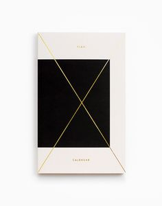Gold Foil Any-Year Daily Planner // Julia Kostreva