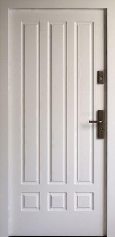 Drewniane wejściowe drzwi zewnętrzne do domu z katalogu modeli klasycznych wzór 533,2