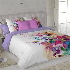 Juego de funda nórdica Lirios de Modern Design by Naturals, cama 90 cm