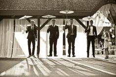 The guys' photo opp?