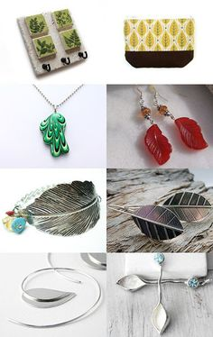 Leaf by Elaine on Etsy--Pinned with TreasuryPin.com