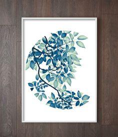 Botanical Decor | Leaf Photography | Botanical Prints | Leaf Art | Botanical Interior | Leaf Print | Nature Prints | Botanical Design Art. Art Print by Little Ink Empire on Etsy.