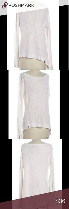 ALICE + OLIVIA Boat Neck Knit Sweater ALICE + OLIVIA Shell Wool Boat Neck Knit Sweater Size XS - Authenticity Guaranteed. Condition: Good. Notes: Minor pilling to fabric. Material: Wool Blend  Size XS Size But fits large  Condition Good Alice + Olivia Tops