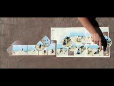 Album Photo Scrapbooking, Deco, Stencils, Triangle, Videos, Blog, Creations, Make It Yourself, Youtube