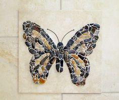 Butterfly by PEBBLEMOSAICS on Etsy