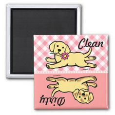 ==>>Big Save on          Yellow Labrador Puppy Clean / Dirty Refrigerator Magnet           Yellow Labrador Puppy Clean / Dirty Refrigerator Magnet lowest price for you. In addition you can compare price with another store and read helpful reviews. BuyDiscount Deals          Yellow Labrador ...Cleck Hot Deals >>> http://www.zazzle.com/yellow_labrador_puppy_clean_dirty_magnet-147366603093045481?rf=238627982471231924&zbar=1&tc=terrest